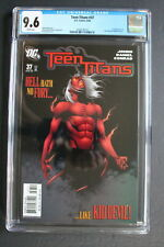 TEEN TITANS #37 1st MISS MARTIAN TV Supergirl 2006 Doom Partol Kid Devil CGC 9.6
