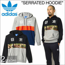 adidas Cotton Blend Hooded Graphic Hoodies & Sweats for Men