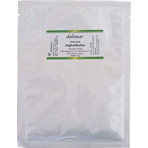 Dalimar Joghurtkultur 15 g - Joghurtkulturen Joghurtmaker probiotisch Beutel
