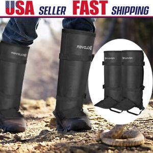 Anti Bite Snake Legging Gaiters Waterproof Hiking Hunting Boot Protection Cover