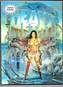 20 Years Of Heavy Metal Hardcover 1997 Limited Edition 266 pp FN/VF 1882931343