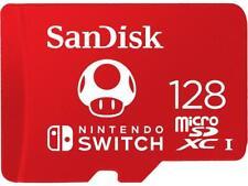 SanDisk 128GB microSDXC UHS 100MB 128G microSD SDXC Nintendo Switch SDSQXAO-128G