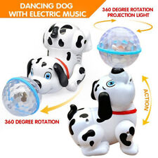 Electronic Pets Dog Toy - Led Dancing Robot Dogs Stand Walk Gift Kids Children
