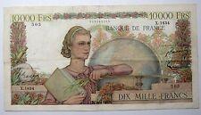 - 10.000 Francs  - Génie Français - 16/8/1951 - Fay 50/53