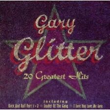 GARY GLITTER - 20 GREATEST HITS  CD 20 TRACKS GLAM-ROCK / POP BEST OF  NEU