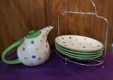 Better Homes & Gardens Confetti Teapot Snack Set
