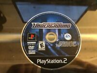 NEED FOR SPEED: UNDERGROUND (PlayStation 2 PS2) WORKS / NO TRACKING / DISC ONLY