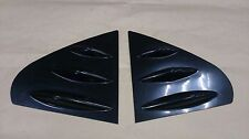 Window Deflector Side Cover Fins for MITSUBISHI Lancer Fortis 08-16 Unpainted