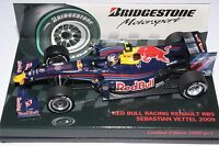 1:43 S VETTEL - Red Bull RB5, 2009, BRIDGESTONE - F1 Minichamps
