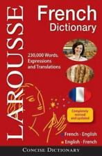 Larousse Concise French-English/English-French Dictionary by Larousse Editors...