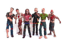 New 1/18 Zombie Dead (6 PCs) Terror Corpse Action Figure Biohazard Resident Evil