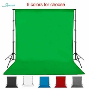 Photoshoot Background Cloth Polyester Cotton Washable Studio Backdrop Screen