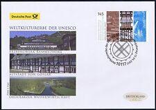 BRD 2017: 3x Harzregion-UNESCO-Welterbe! Post-FDC Nr 3299! Berlin-Stempel! 1706