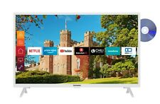 Telefunken XH32J511D-W 32 Zoll Fernseher (Smart TV inkl. Prime Video/Netflix)