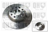 2x Brake Discs (Pair) Solid fits VOLKSWAGEN TIGUAN 5N Rear 1.4 2.0 2.0D 07 to 18