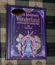 Alice's Adventures in Wonderland   LeatherBound  Hardcover  New & Sealed