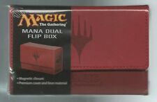 Ultra PRO Magic the Gathering MTG Mana Matte RED Dual Flip Deck Box NEW