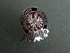 EINTRACHT FRANKFURT - 1958/59 -  Pin versilbert.