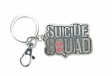 DC Comics Suicide Squad Logo Pewter Keychain