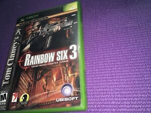 Tom Clancy's Rainbow Six 3–Xbox—Preowned Condition —Manual Included🔥FreeShip🔥