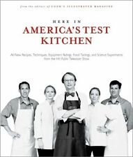 Here In Americas Test Kitchen: All New Recipes, Q