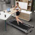 Extra Wide 2in1 Under Desk 3.0HP Electric Treadmill Walking Running Machine w/RC