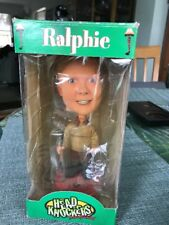 A Christmas Story Ralphie Flannel ShotGun Neca Bobble Head Hand Painted In Box