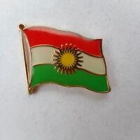 Kurdistan Flaggenpin,Flag,Fahne,Pin,Kurden