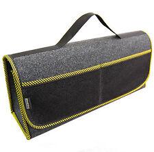 Kofferraumtasche Auto Tasche Zubehörtasche in GELB passend für Fiat