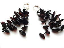 Genuine  BALTIC AMBER EARRINGS - Choose your color