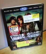 Pirates of the Caribbean 4-On Stranger Tides 3D (5-Disc Blu-ray/DVD+3D Slipcover