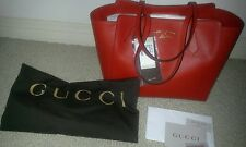 GUCCI AUTHENTIC RED SWING TOTE SMALL NWT