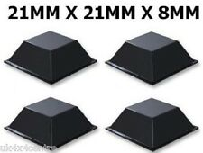 4 X self adhesive Stick on rubber Feet