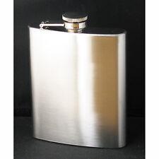 Flachmann Edelstahl Flasche Schraubverschluss 200ml
