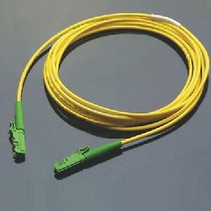 1m Simplex 8.3/125µm/2.8mm Single Mode E2000/APC to E2000/APC Patch Cord
