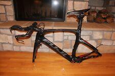 Fuji Norcom Carbon TT Triathlon Frame Size M/L Excellent Condition! With Extras
