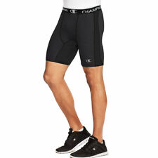 2 Champion Powerflex Men's Solid Compression Shorts 87294 2xl Black