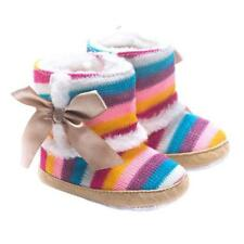 Toddler Baby Girl Shoes Winter Warm Soft Crib Sole Snow Anti-slip Boots Warmer ·