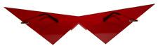 Red V costume cosplay glasses.