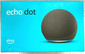 Amazon Echo Dot (4th Gen.) Smart Speaker - Charcoal - New