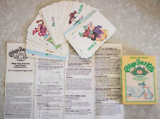1984 CABBAGE PATCH KIDS Make New Friends CARD GAME Parker Brothers Complete