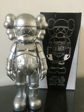 Kaws Star War Black Stormtrooper 25cm Action Figure With Original Box Silver