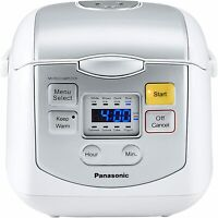 Panasonic Premium Rice Cooker SR-ZC075W 4 Cups Diamond Coating - Open Box