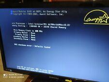 TESTED VINTAGE ABIT SL6 Motherboard + Celeron 667Mhz + 128Mb RAM, 6PCI, AGP.