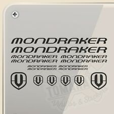 PEGATINA KIT MONDRAKER CYCLES MTB VINYL STICKER DECAL AUFKLEBER AUTOCOLLANT