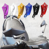 Universal Motorcycle Rearview Mirror Side Mirrors For Honda Yamaha Kawasaki