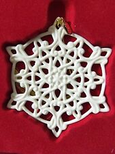 Lenox 2011 Annual Snow Fantasies Snowflake Ornament Brand New In Box 1st Quality
