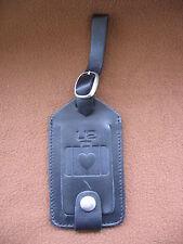 U2 PROMO 100% Leather ORIGINAL Baggage Tag 2001 MINT / NEW ULTRA RARE!