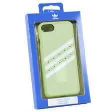 Adidas Originals Modellato Custodia vapore per iPhone Apple 7/8 Verde Bianco