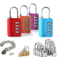 Cupboard Cabinet Password Padlock Lock Suitcase Luggage Coded Student Dormitory